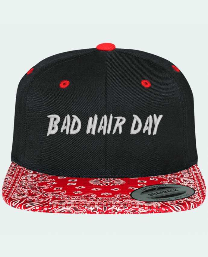 Gorra Snapback Motivo Bad hair day por tunetoo