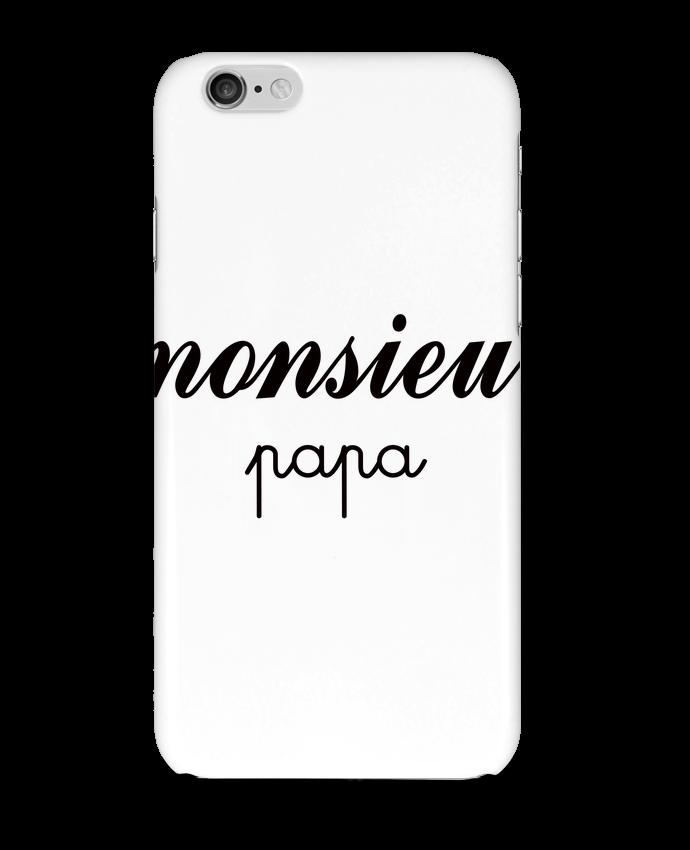 Carcasa  Iphone 6 Monsieur Papa por Freeyourshirt.com