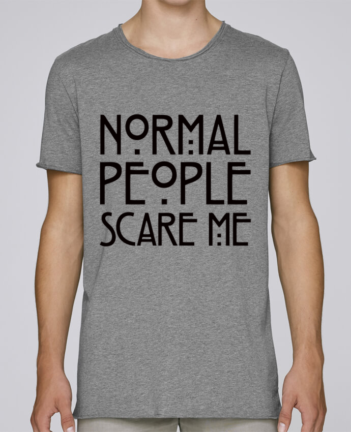 Camiseta Hombre Tallas Grandes Stanly Skates Normal People Scare Me por Freeyourshirt.com