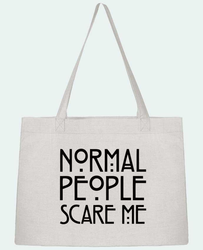Bolsa de Tela Stanley Stella Normal People Scare Me por Freeyourshirt.com