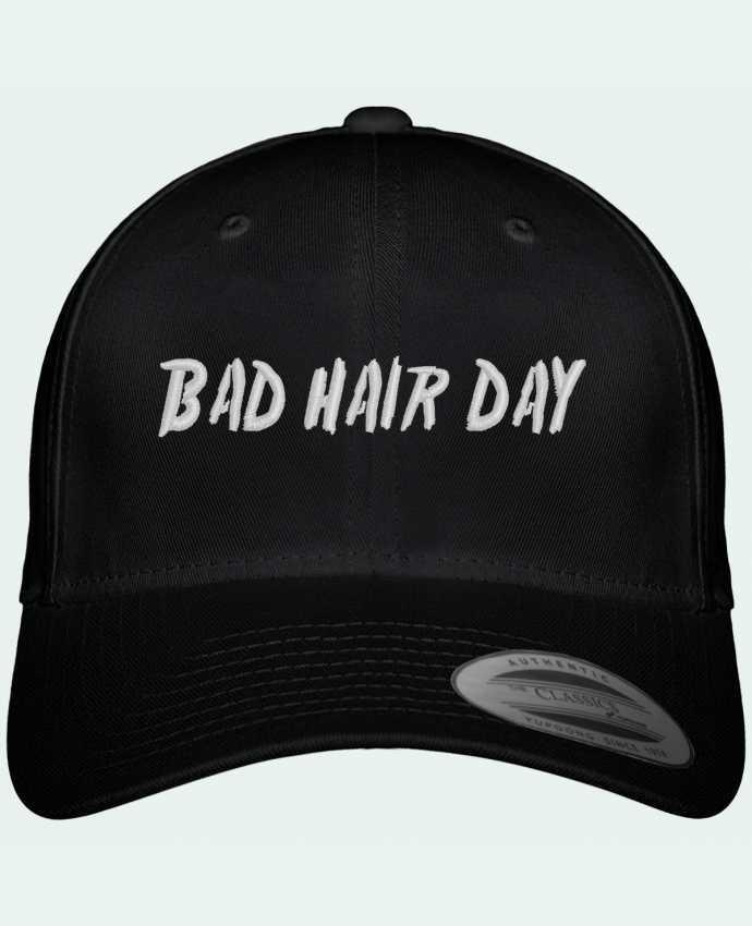 Casquette Flexfit 6 panneau Bad hair day por tunetoo