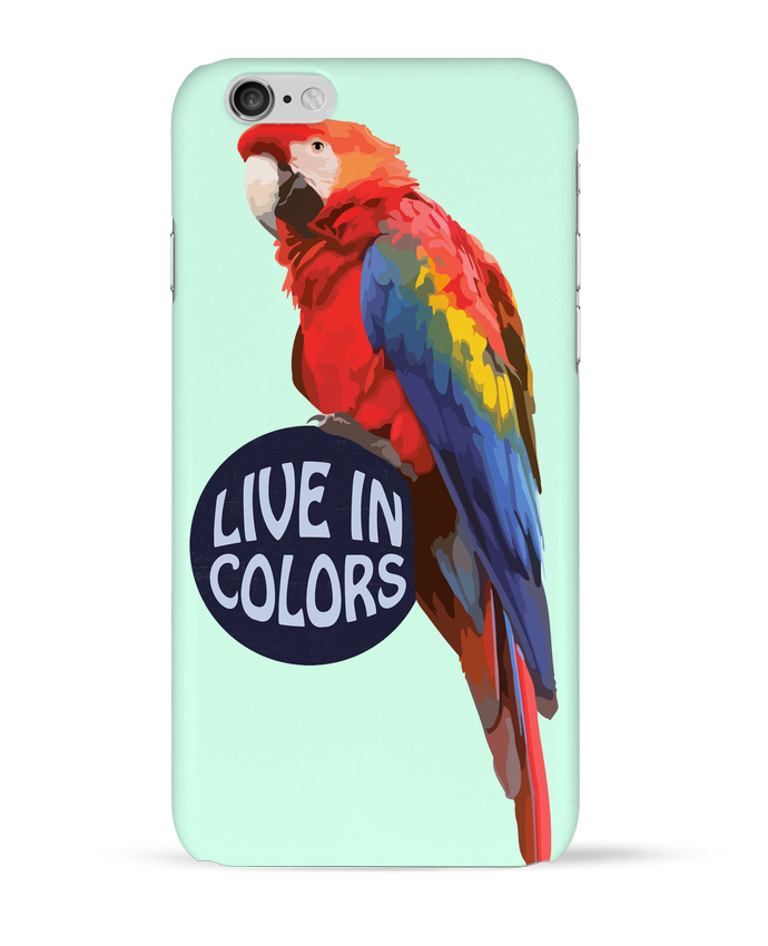 Carcasa  Iphone 6 Perroquet - Live in colors por justsayin