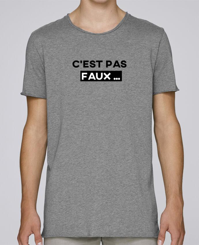 Camiseta Hombre Tallas Grandes Stanly Skates C'est pas faux ... por tunetoo