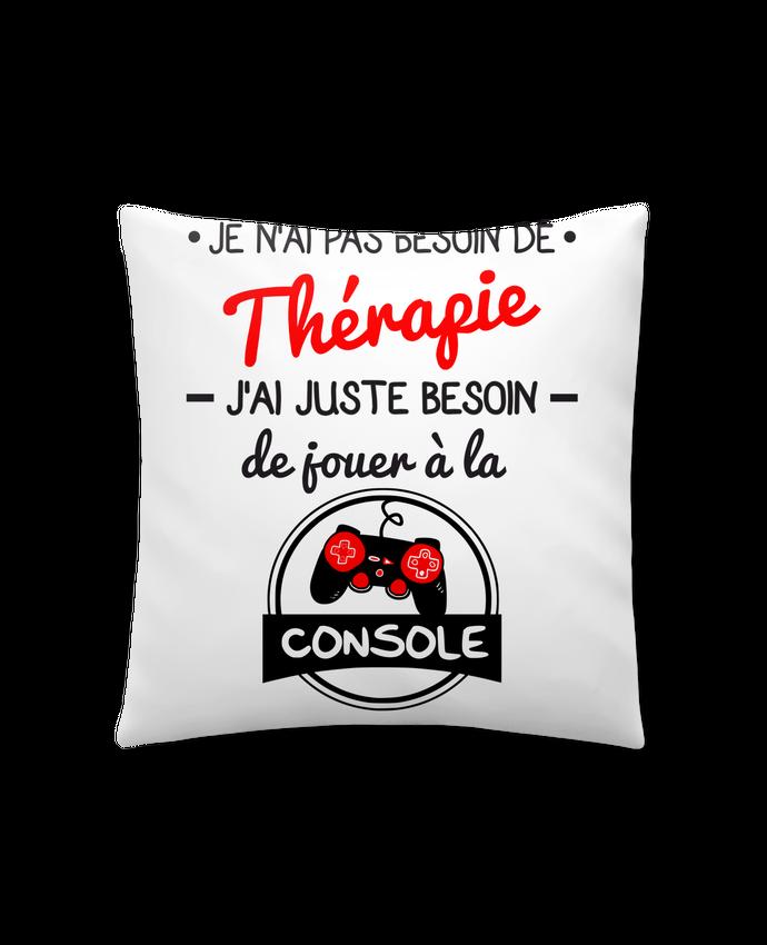 Cojín Sintético Suave 45 x 45 cm Tee shirt marrant pour geek,gamer : Je n'ai pas besoin de thérapie, j'ai juste besoin de j