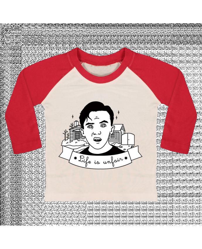 Camiseta Bebé Béisbol Manga Larga Malcolm in the middle por tattooanshort