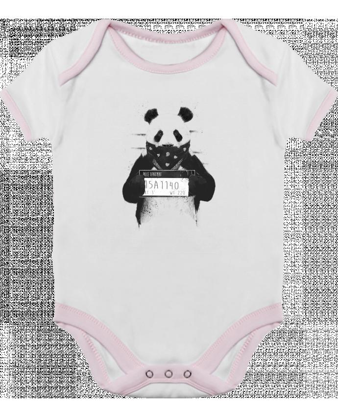 Body Bebé Contraste Bad panda por Balàzs Solti