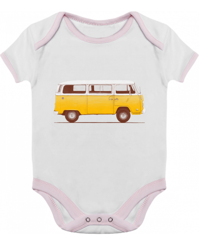Body Bebé Contraste Yellow Van por Florent Bodart