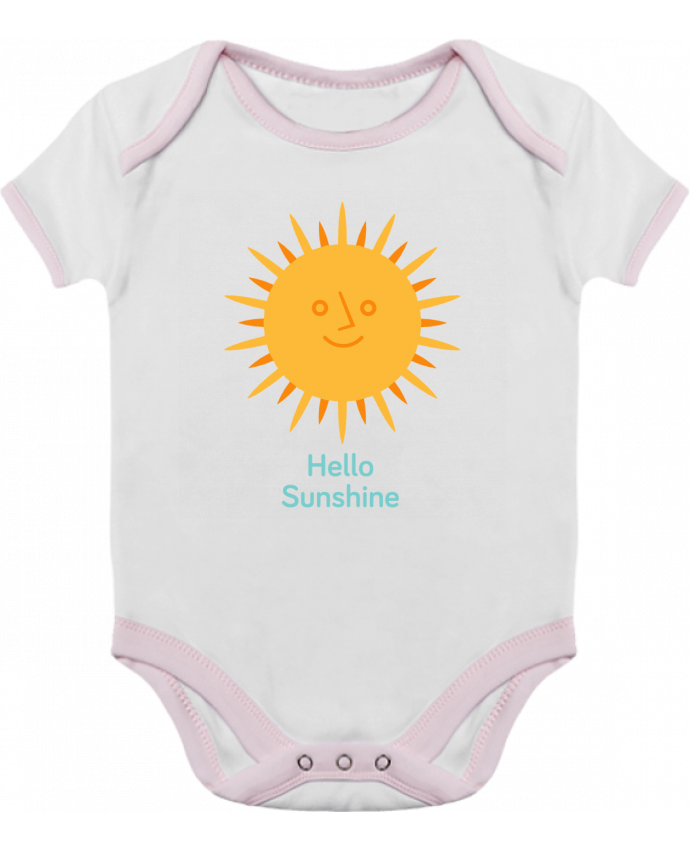 Body Bebé Contraste HelloSunshine por chriswharton