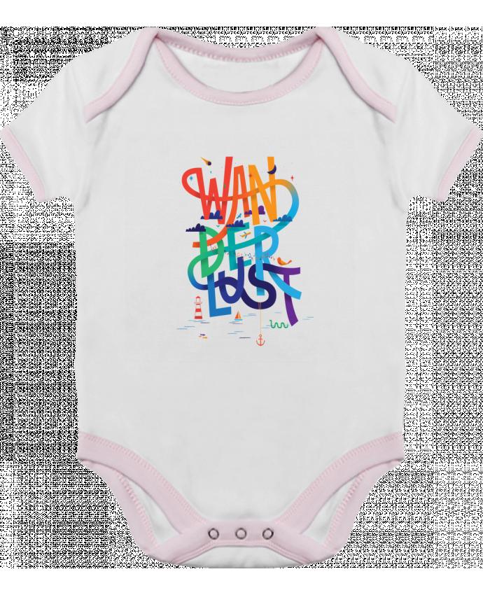 Body Bebé Contraste WanderLust por chriswharton