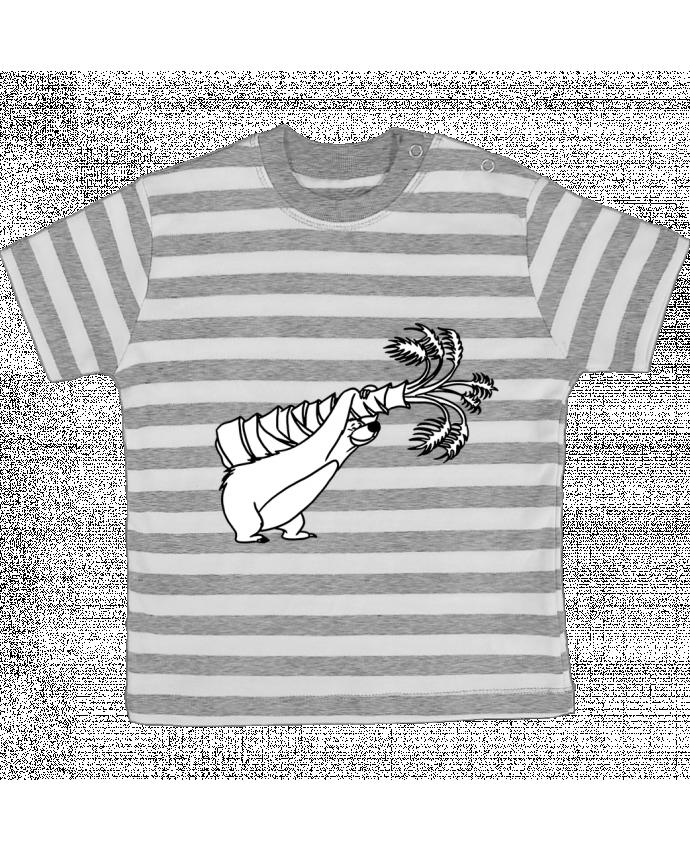Camiseta Bebé a Rayas Baloo por tattooanshort