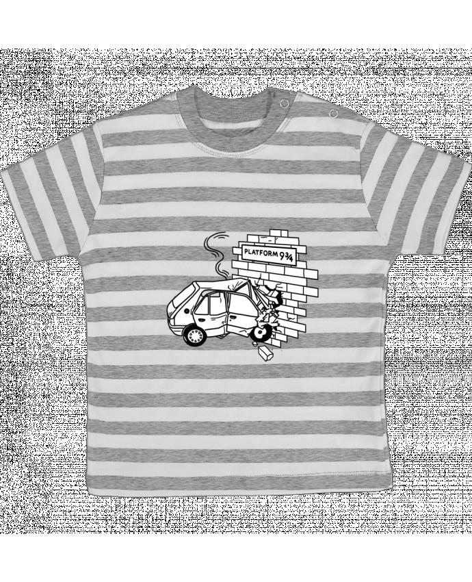 Camiseta Bebé a Rayas 205 por tattooanshort