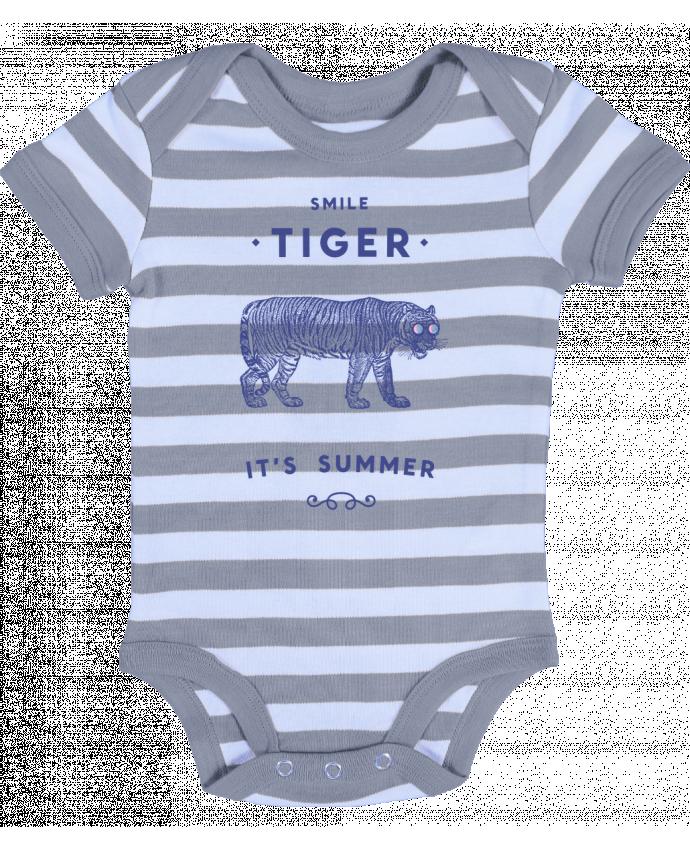 Body Bebé a Rayas Smile Tiger - Florent Bodart