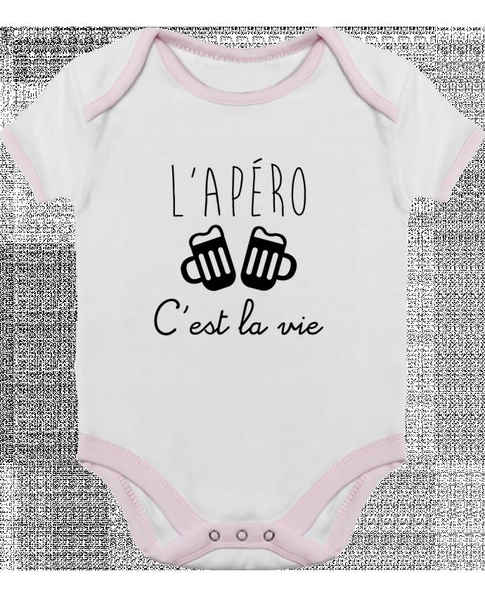 Body Bebé Contraste L'apéro c'est la vie , humour , alcool , drôle por Benichan