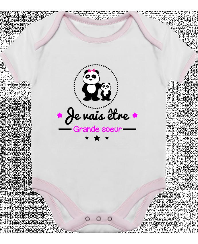 Body Bebé Contraste Bientôt grande soeur - Future grande soeur por Benichan