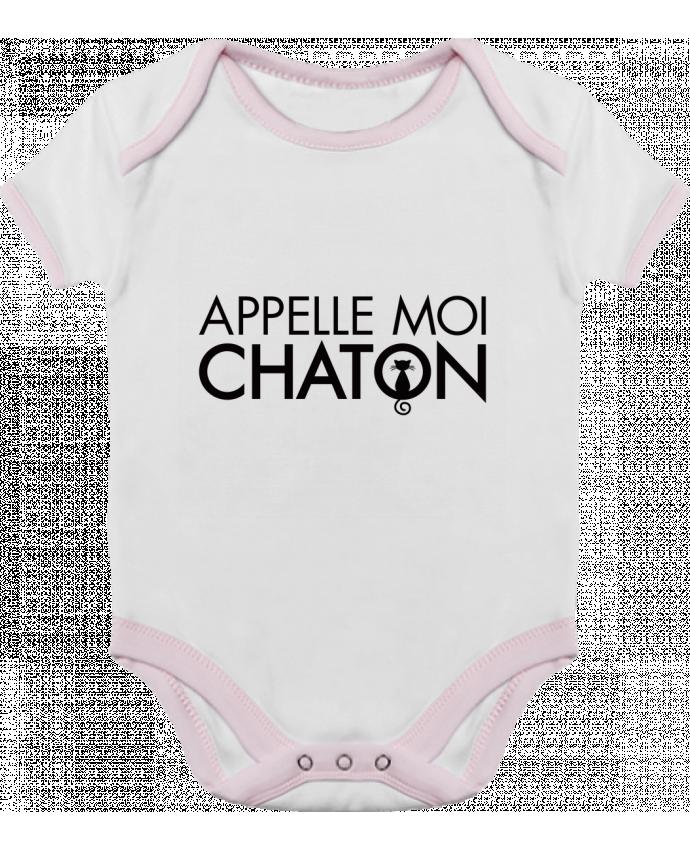 Body Bebé Contraste Appelle moi Chaton por Freeyourshirt.com