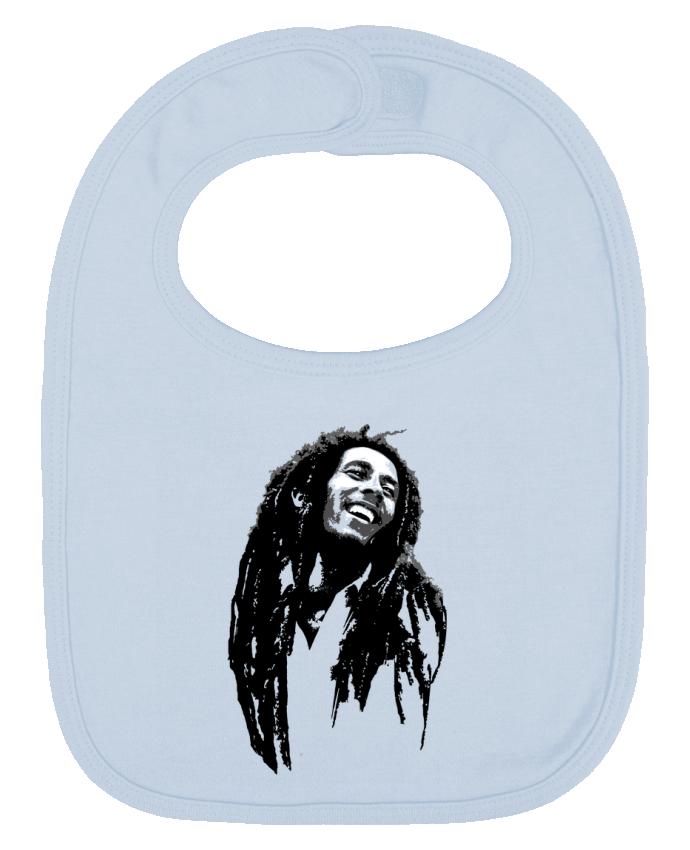 Babero Liso y Contrastado Bob Marley por Graff4Art