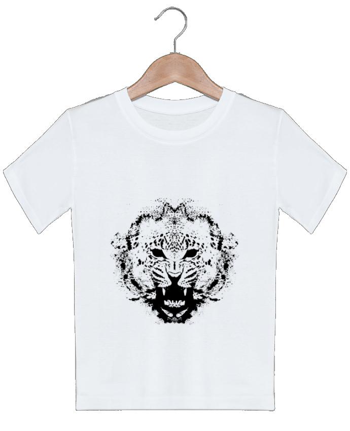 T-shirt garçon motif leopord Graff4Art