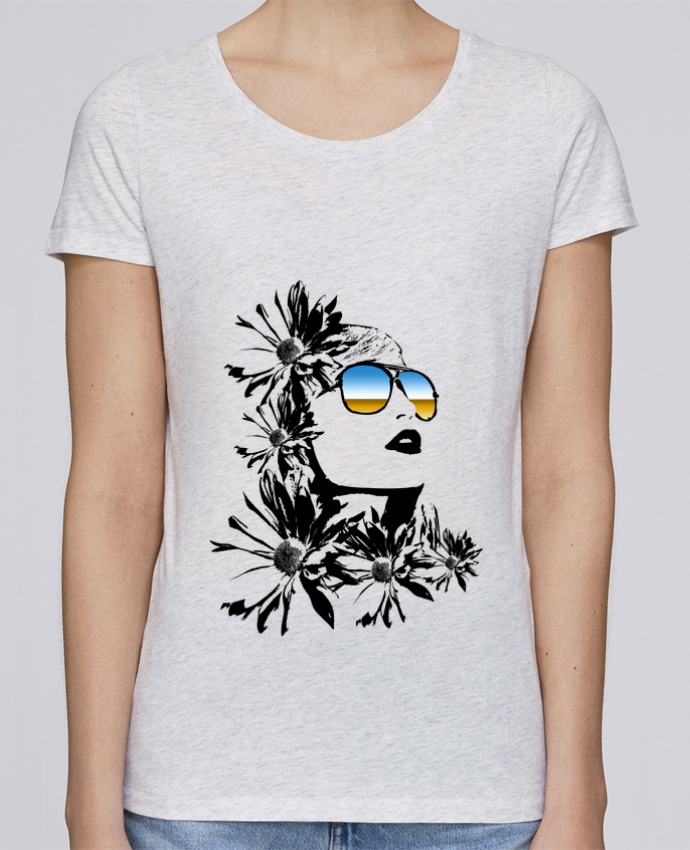 Camiseta Mujer Stellla Loves women por Graff4Art