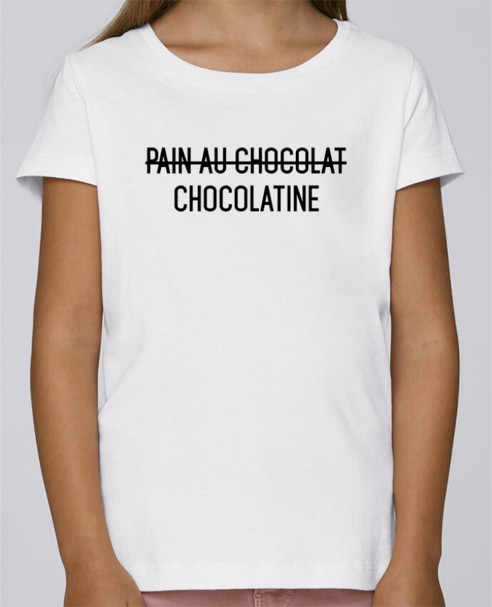 Camiseta Niña Stella Draws Chocolatine por tunetoo