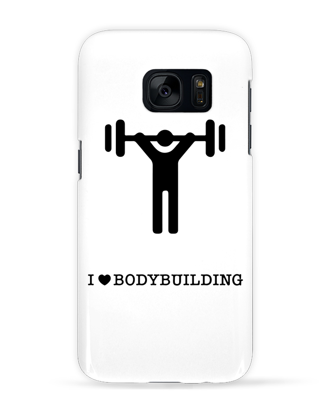 Carcasa Samsung Galaxy S7 I love bodybuilding por will