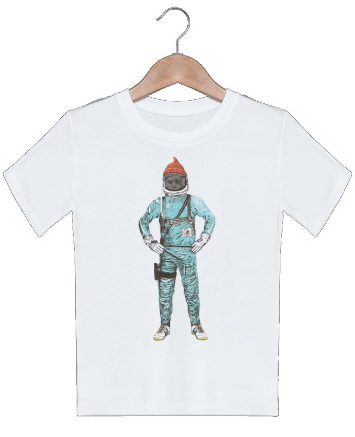 T-shirt garçon motif Zissou in space Florent Bodart