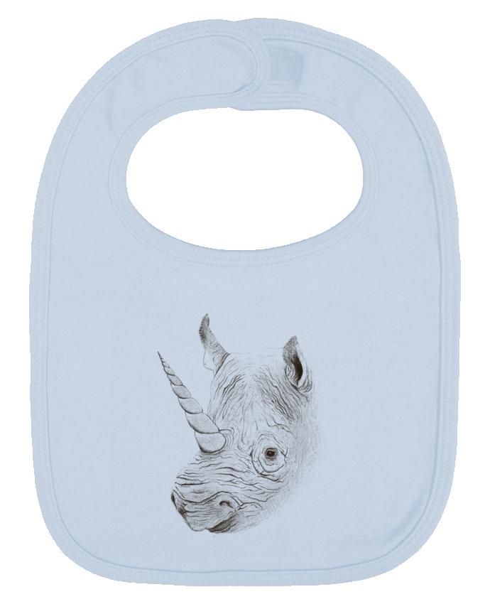 Babero Liso y Contrastado Rhinoplasty por Florent Bodart