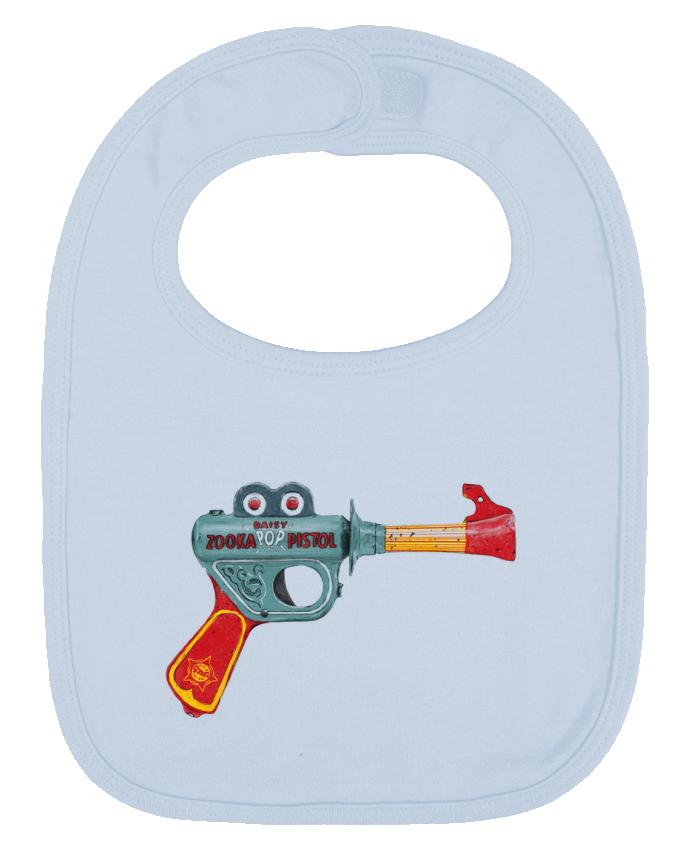 Babero Liso y Contrastado Gun Toy por Florent Bodart