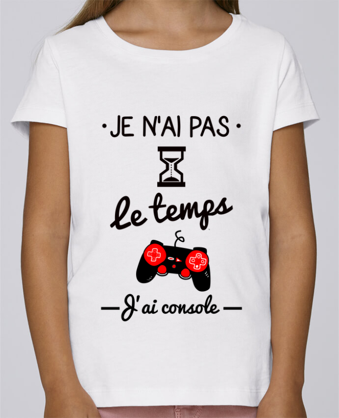 Camiseta Niña Stella Draws Pas le temps, j