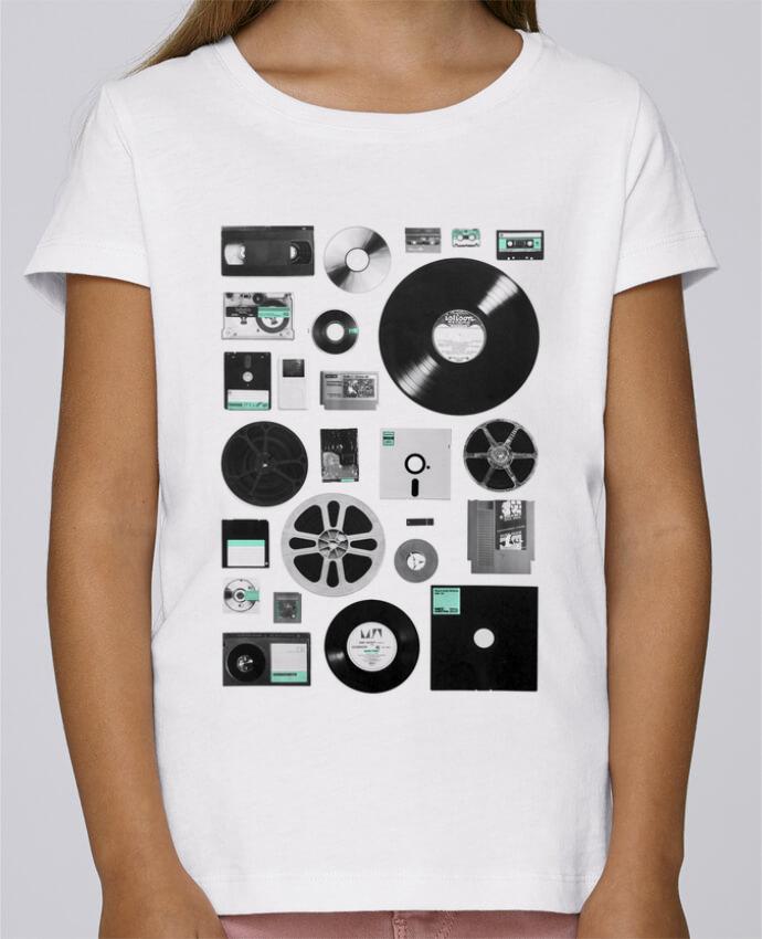 Camiseta Niña Stella Draws Data por Florent Bodart