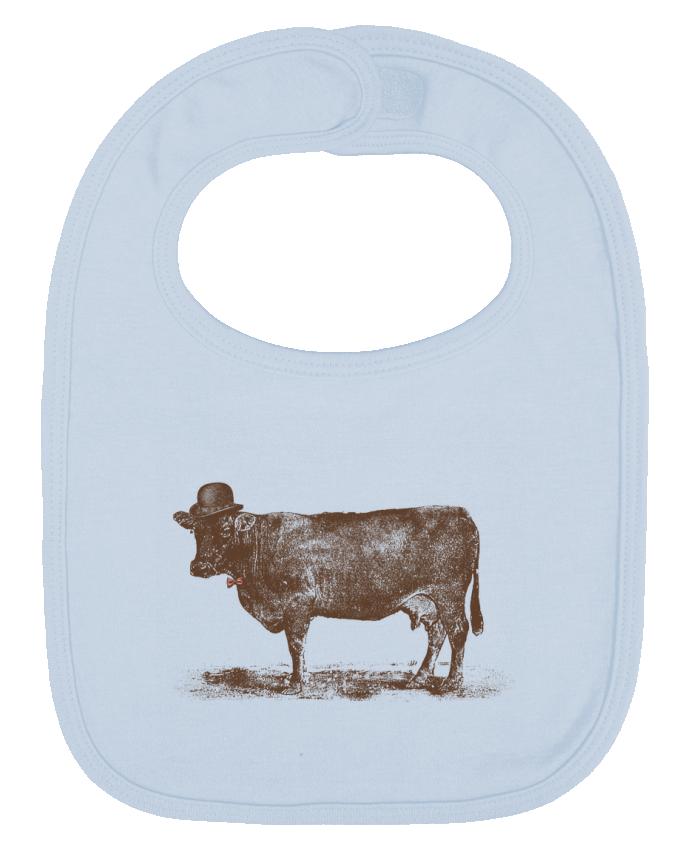 Babero Liso y Contrastado Cow Cow Nut por Florent Bodart