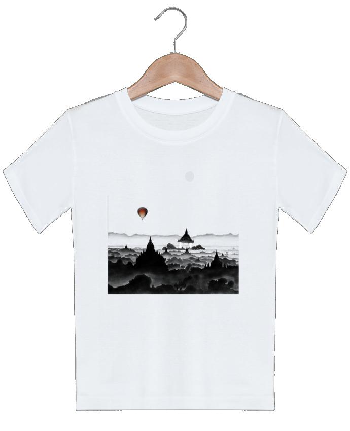T-shirt garçon motif Aurora Florent Bodart