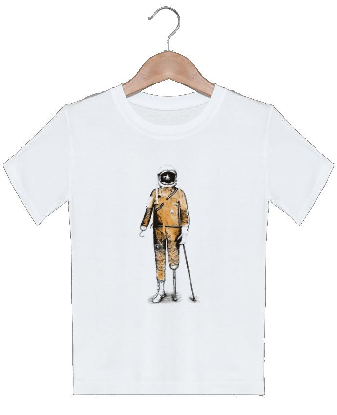 T-shirt garçon motif Astropirate Florent Bodart