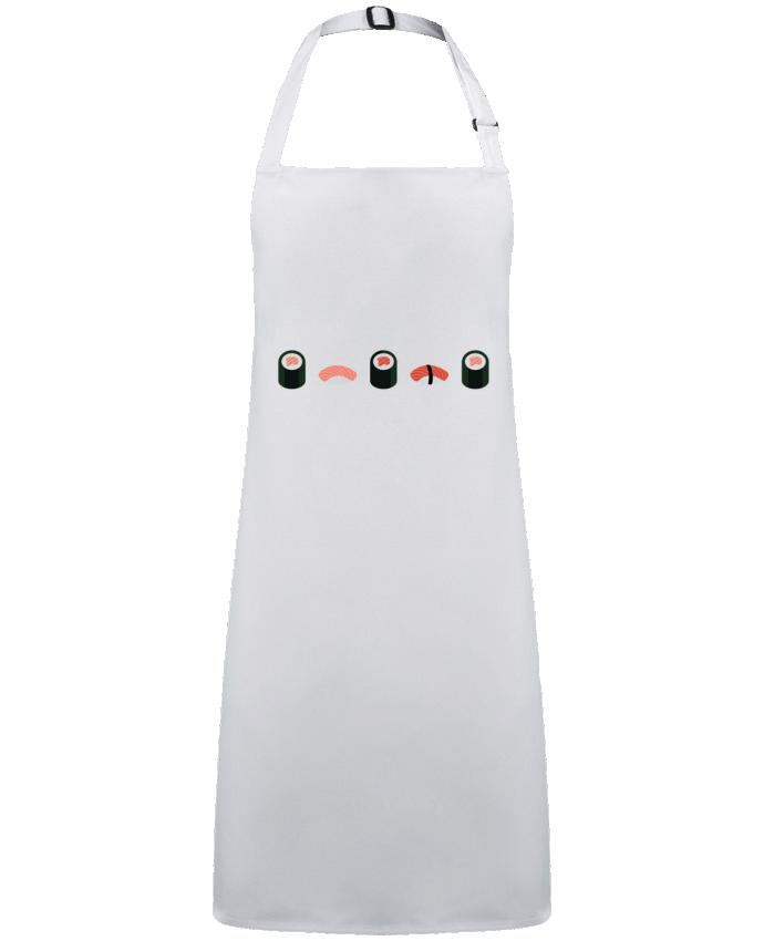 Delantal Sin Bolsillo Sushi por  GWEN