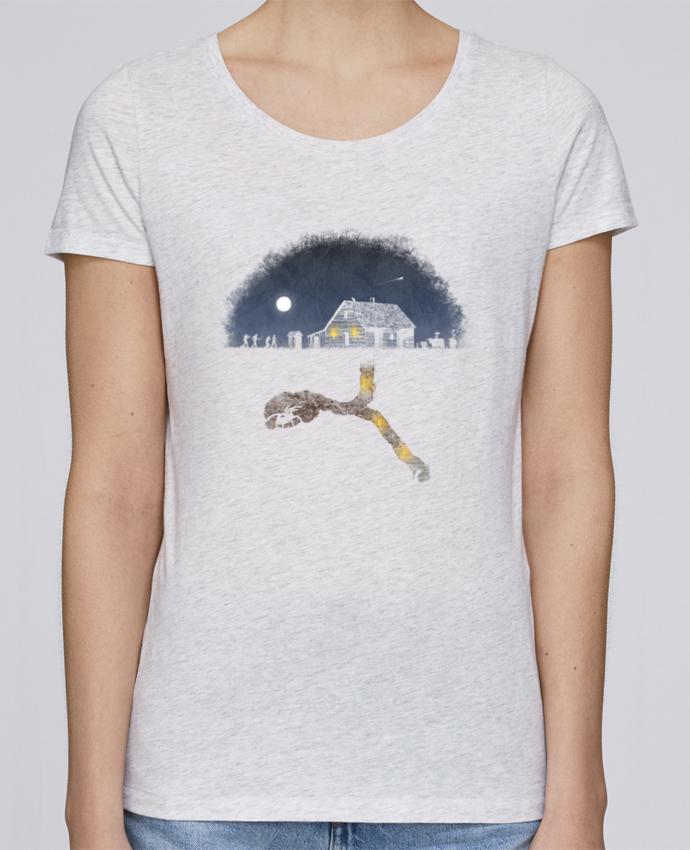 Camiseta Mujer Stellla Loves Always Digging por Florent Bodart
