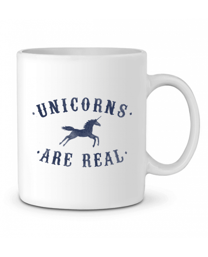 Taza Cerámica Unicorns are real por Florent Bodart