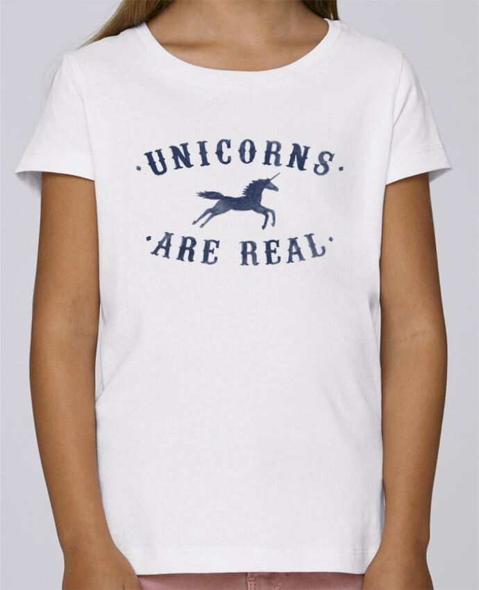 Camiseta Niña Stella Draws Unicorns are real por Florent Bodart