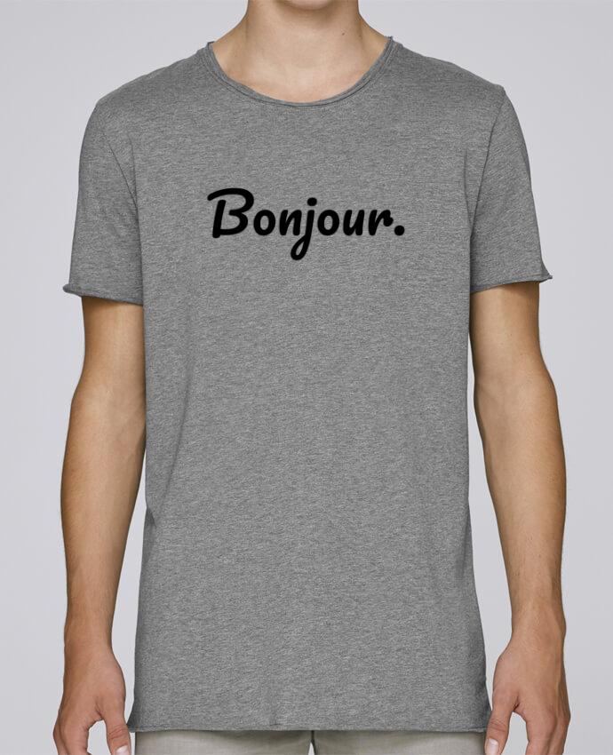 Camiseta Hombre Tallas Grandes Stanly Skates Bonjour. por tunetoo