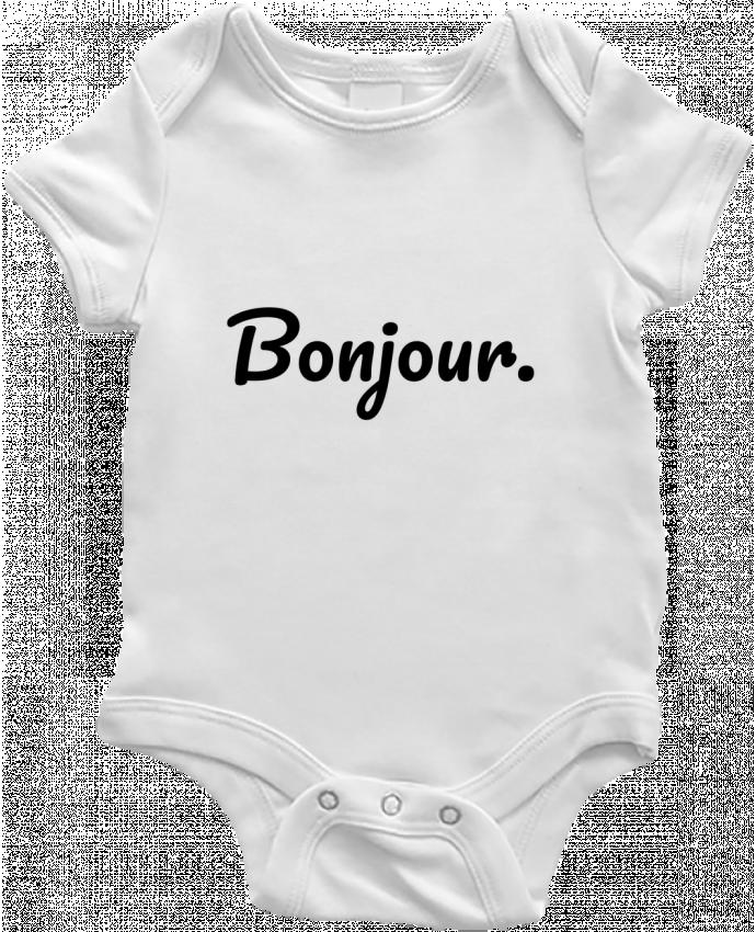 Body Bebé Bonjour. por tunetoo
