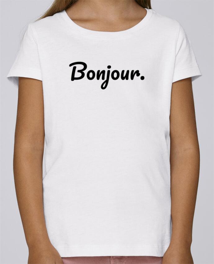 Camiseta Niña Stella Draws Bonjour. por tunetoo