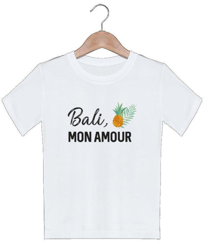 T-shirt garçon motif Bali, mon amour IDÉ'IN