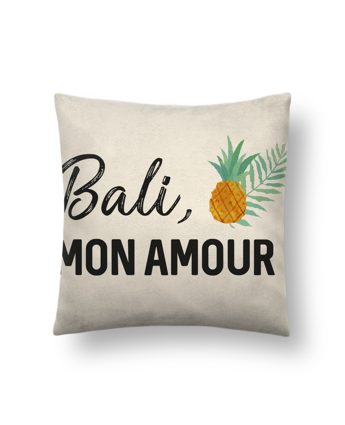 Cojín Piel de Melocotón 45 x 45 cm Bali, mon amour por IDÉ'IN