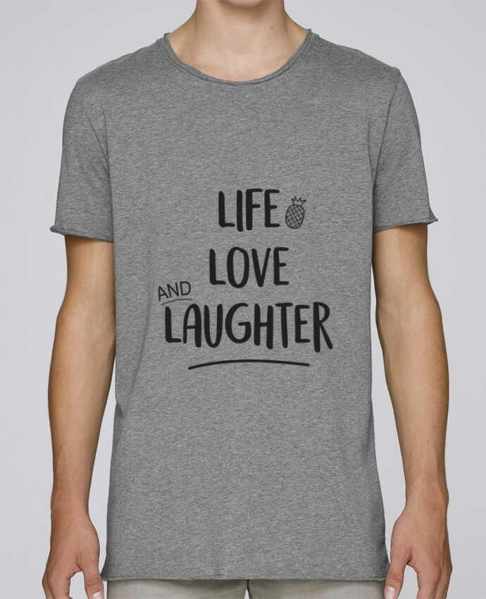 Camiseta Hombre Tallas Grandes Stanly Skates Life, love and laughter... por IDÉ'IN
