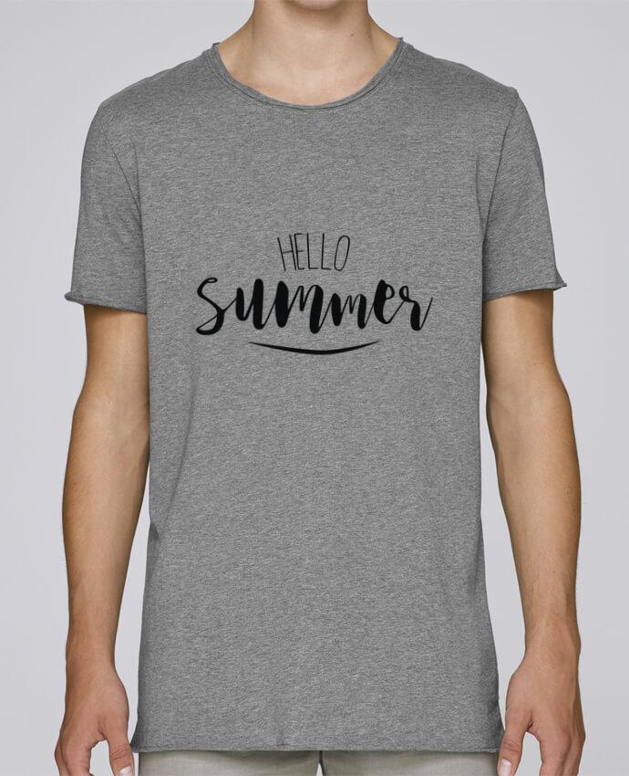 Camiseta Hombre Tallas Grandes Stanly Skates Hello Summer ! por IDÉ'IN