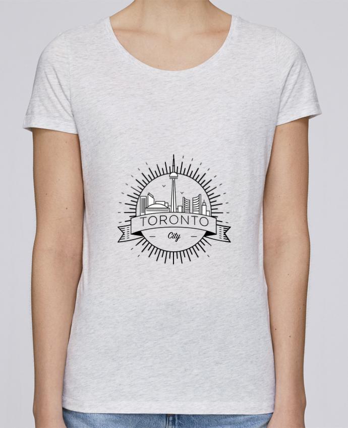 Camiseta Mujer Stellla Loves Toronto City por Likagraphe