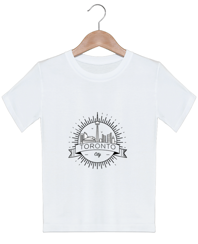 T-shirt garçon motif Toronto City Likagraphe