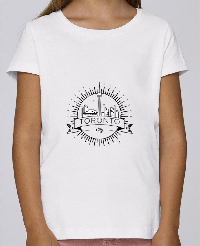 Camiseta Niña Stella Draws Toronto City por Likagraphe
