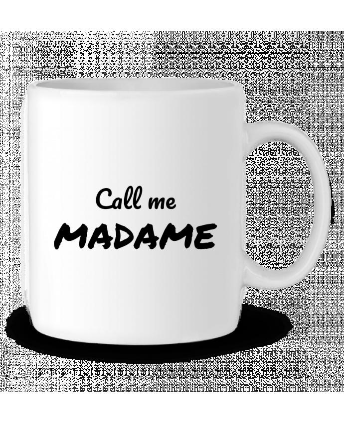 Taza Cerámica Call me MADAME por Madame Loé
