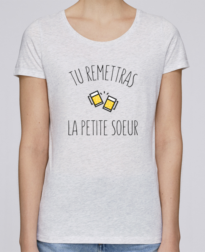 Camiseta Mujer Stellla Loves Tu me remettras la petite soeur por tunetoo