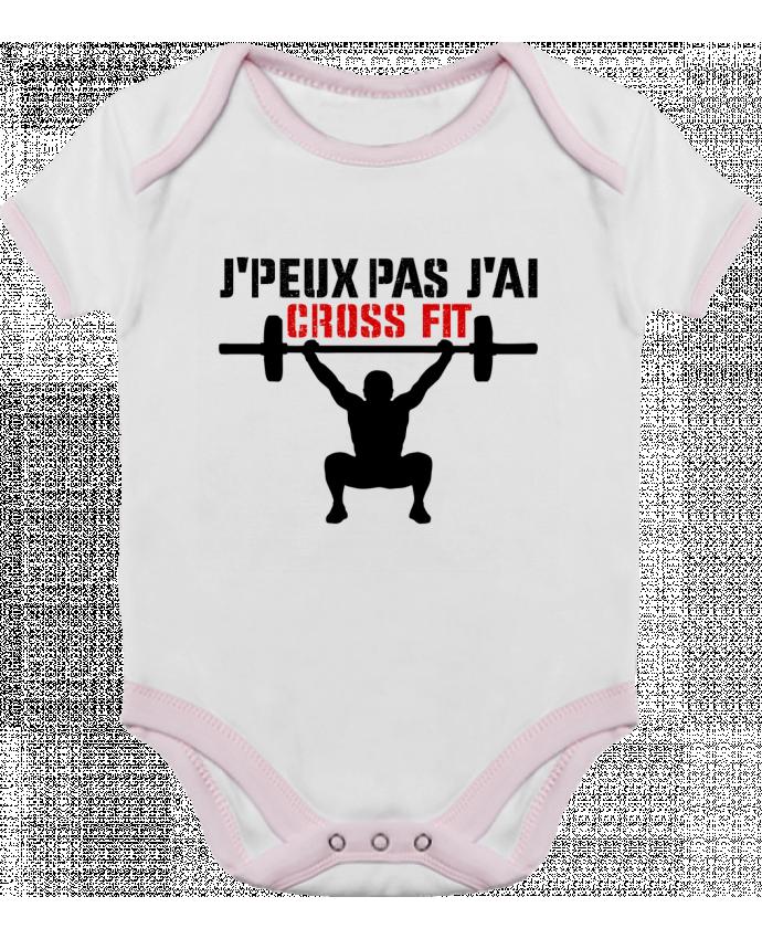 Body Bebé Contraste J'peux pas j'ai Crossfit por tunetoo