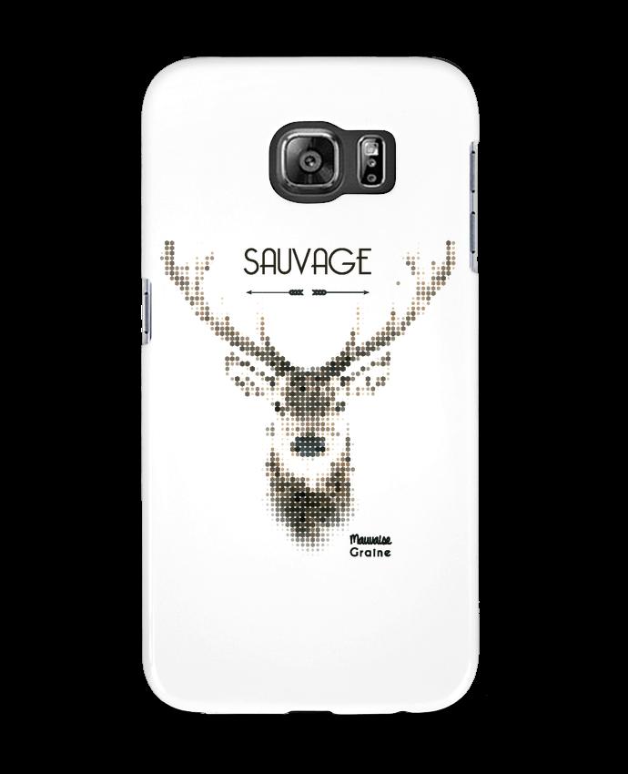 Carcasa Samsung Galaxy S6 Tête de cerf sauvage - Mauvaise Graine